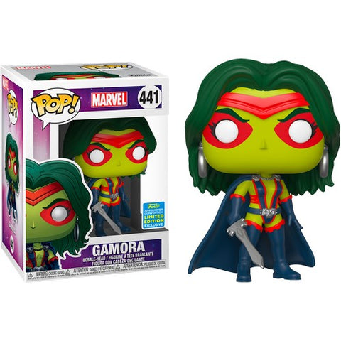 Guardians of the Galaxy - Gamora Classic #441 Pop Vinyl Funko SDCC 2019 Exclusive