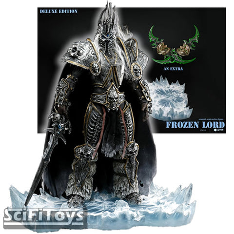 1:6 WOW World of Warcraft - Frozen Lord Lich King a.k.a Prince Arthas Menethil Custom Figure Coreplay Deluxe