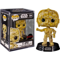 Star Wars - C-3PO Futura #64 Pop Vinyl Funko Exclusive