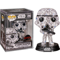 Star Wars - Stormtrooper Futura #296 Pop Vinyl Funko Exclusive