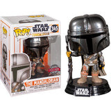 Star Wars : The Mandalorian Chrome #345 Pop Vinyl Funko Exclusive