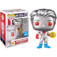 DC Comics - Captain Atom #333 Pop Vinyl Funko Wonder Con 2020 Exclusive