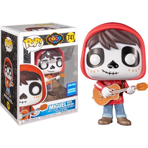 Coco - Miguel with Guitar #741 Pop Vinyl Funko Wonder Con 2020 Exclusive