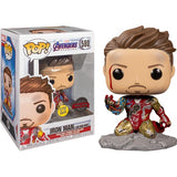 Avengers 4 : Endgame - I Am Iron Man Glow in the Dark Deluxe #580 Pop Vinyl Figure Funko Exclusive (LAST CHANCE)