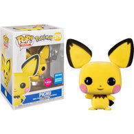 Pokemon - Pichu Flocked #579 Pop Vinyl Funko Wonder Con 2020 Exclusive