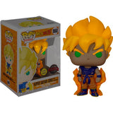 Anime : Dragon Ball Z - Super Saiyan Goku First Appearance Glow in the Dark #860 Pop Vinyl Figure Funko