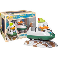 Disneyland 65th Anniversary - Donald Duck with Matterhorn Bobsleds Attraction #88 Pop Rides Vinyl Figure Funko Exclusive
