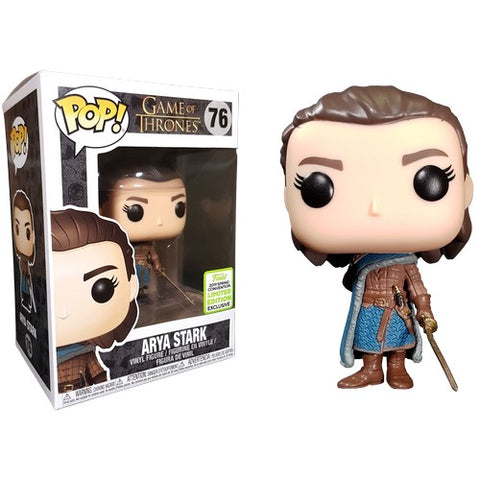 Game of Thrones - Arya Stark #76 Pop Vinyl Funko ECCC 2019 Spring Convention Exclusive