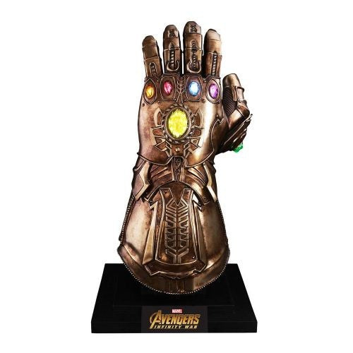1:1 Avengers 3 : Infinity War - Thanos Infinity Gauntlet Replica Hot Toys