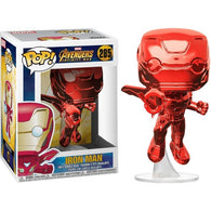 Avengers 3 : Infinity War - Iron Man Red Chrome #285 Pop Vinyl Funko Exclusive