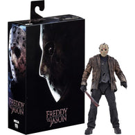 "1:10 7"" Freddy vs Jason - Ultimate Jason Voorhees Action Figure NECA"