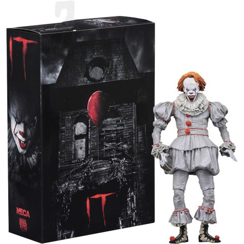 "1:10 7"" It 2017- Ultimate Pennywise Well House Action Figure NECA"