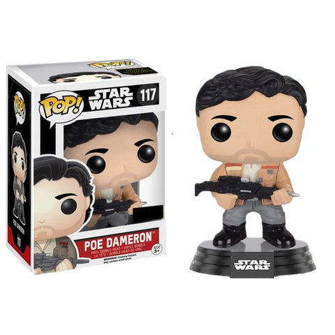 Star Wars : The Force Awakens - Poe Dameron #117 Pop! Vinyl Funko