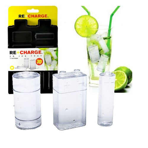 Re-Charge 3D Battery Ice Cube Tray