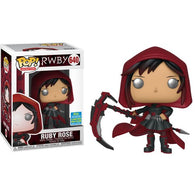 RWBY - Ruby Rose with Hood #640 Pop Vinyl Funko SDCC 2019 Exclusive