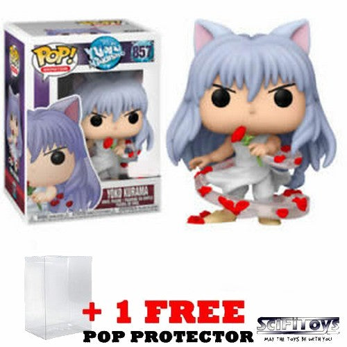 Anime : Yu Yu Hakusho - Demon Kurama #857 Pop Vinyl Figure Funko Exclusive