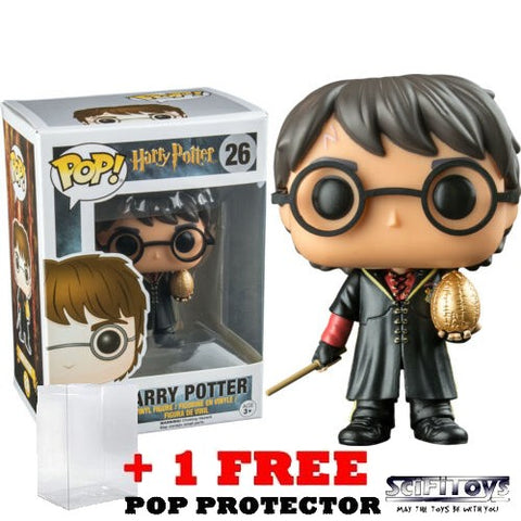 Harry Potter - Harry Triwizard with Egg #26 Pop Vinyl Figure Funko Exclusive (LAST CHANCE)