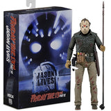 "1:10 7"" Friday the 13th - Ultimate Jason Voorhees Action Figure Part 6 NECA"