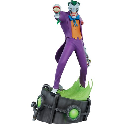 "17"" Batman : The Animated Series - Joker Statue Sideshow"