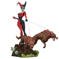 "16"" Batman : The Animated Series - Harley Quinn Statue Sideshow"