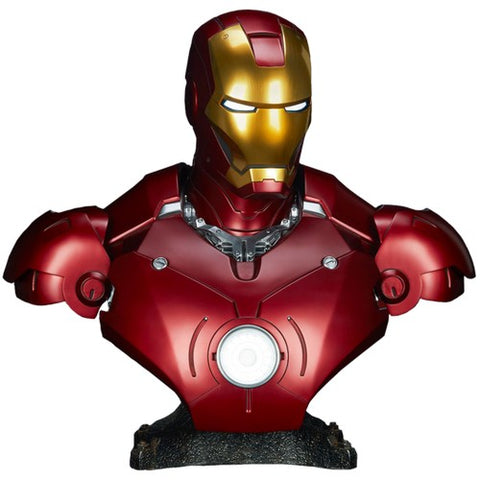 "1:1 26"" Iron Man - Mark III 3 Life Size Bust Sideshow Collectibles"