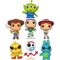 Toy Story 4 - Bonnie's Toys Woody Buzz Alien Jessie Forky Bunny Ducky Pop Vinyl Funko Single / Bundle Set of 7