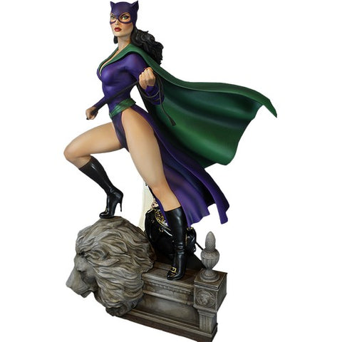 "16"" Batman - Catwoman Super Powers Statue Maquette Tweeterhead"