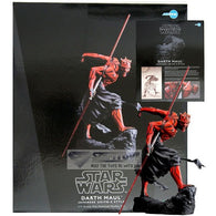 1:7 Star Wars - Darth Maul Japanese Ukiyo-E Style Statue Ligh-Up Lightsaber ARTFX+ Kotobukiya