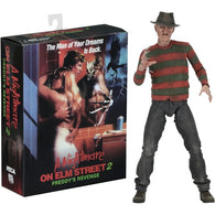 "1:10 7"" A Nightmare on Elm Street 2 : Freddy's Revenge - Ultimate Freddy Krueger Action Figure NECA"