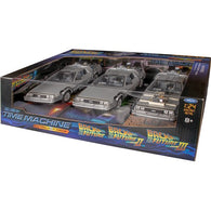 1:24 Back to the Future Trilogy - Delorean Time Machine Diecast Replica Welly