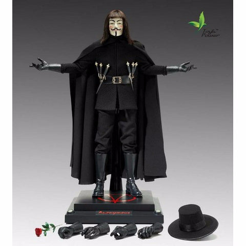 1:6 V for Vendetta - V Guy Fawkes Figure (Toys Era)