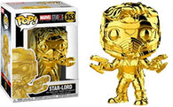 Marvel Studios The First 10 Years : Guardian of the Galaxy - Star Lord Gold Chrome #353 Pop Vinyl Funko Exclusive