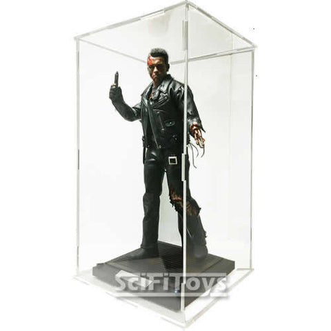 1 6 Action Figure U V Protection Clear Display Case For Hot Toys