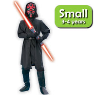 Star Wars - Darth Maul Deluxe Cosplay Costume Child Size S Rubies