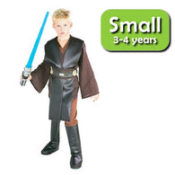 Star Wars : Revenge of the Sith - Anakin Skywalker Deluxe Child Cosplay Costume Size S Rubies