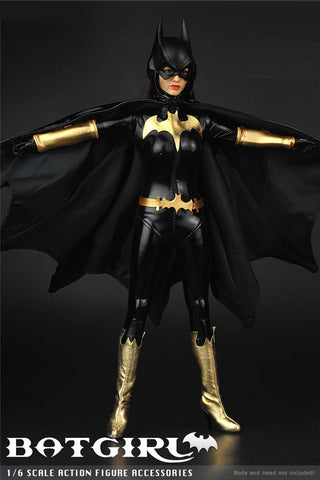 1:6 Batgirl batwoman Custom Female Outfit Set