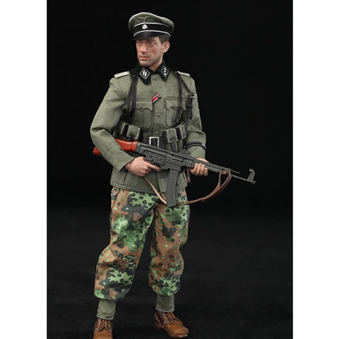 1:6 DID D80118 Rainer - 12th SS-Panzer-Division MG34 Hitlerjugend Figure