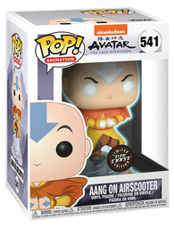 Avatar The Last Airbender - Aang on Bubble CHASE Glow in the Dark #370 Pop Vinyl Funko Exclusive