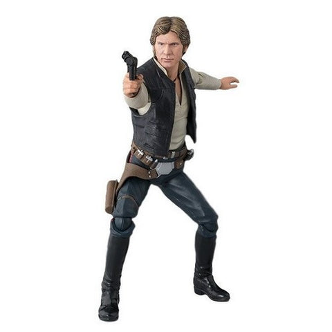 1:12 Star Wars : A New Hope - Han Solo S.H.Figuarts Figure Bandai Tamashii Nations