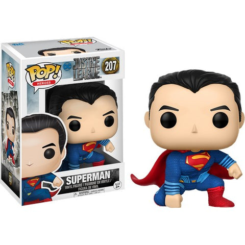 Justice League - Superman #207 Pop vinyl Figure Funko