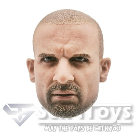 1:6 Prison Break - Dominic Purcell / Lincoln Burrows Custom Male Head Sculpt Only Hot toys