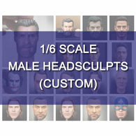 1:6 MALE Custom Head Sculpt