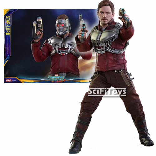 1:6 Guardian Of the Galaxy 2 - Star Lord Hot Toys MMS420 Standard / MMS421 DELUXE