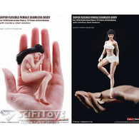 1:12 Super Flexible Steel FEMALE Seamless Body for Custom Figure TB league Phicen