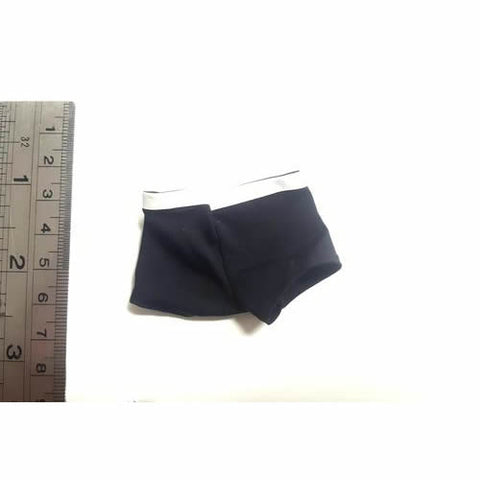 1/6 Male Custom Parts:  Black Underpants / Underwear (MP001)