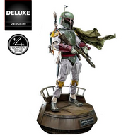 1:4 STAR WARS Episode VI Return Of The Jedi - BOBA FETT Figure QS003 DELUXE VER. Hot Toys