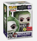 Beetlejuice #1010 Glow in the Dark Pop Vinyl Funko NYCC 2020 Exclusive (LAST CHANCE)