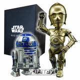 Star Wars - C-3PO and R2-D2 Hybrid Metal Figuration Hero Cross
