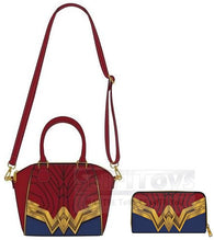 Dc Comics - Wonder Woman Cross Body Bag or Zip-Around Long Wallet Loungefly