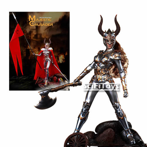 1:6 Majestic Crusader Female Custom Figure Phicen TBLeague (LAST CHANCE)